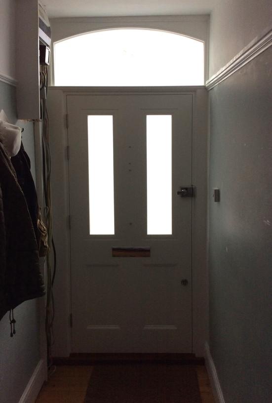 Victorian door in Clapham