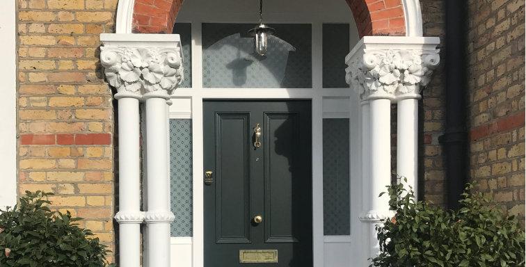 The Four Panel Door