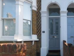 Bespoke front door in London