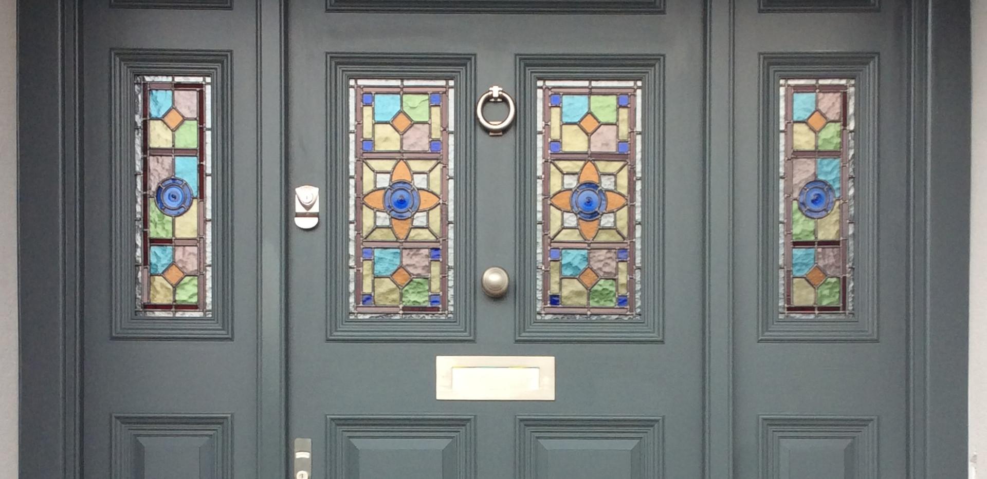 Edwardian front door.