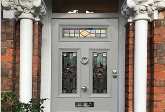The Victorian Five Panel Door