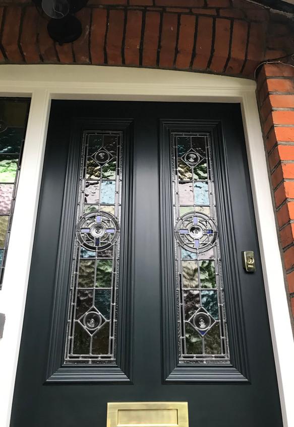 Front door London
