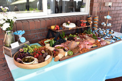 1.5m grazing table with extra desserts included