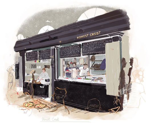 Honest Crust, Altrincham Market