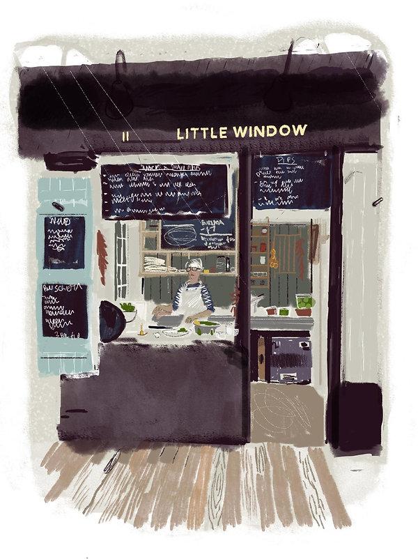 Little Window, Altrincham Market
