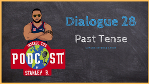 Dialogue 28    Past simples, past continuous and present perfect