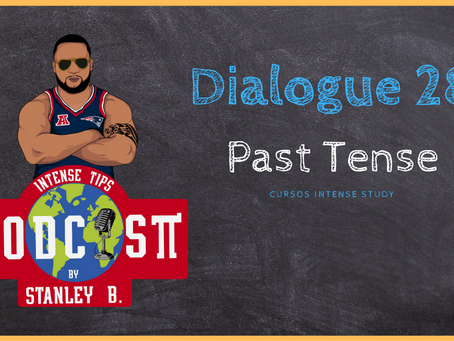 Dialogue 28 |  Past simples, past continuous and present perfect