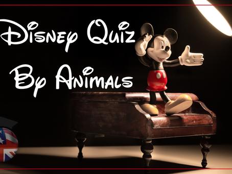 Quiz | Filmes da Disney por Animais