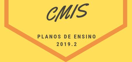 Planos de Ensino CMIS