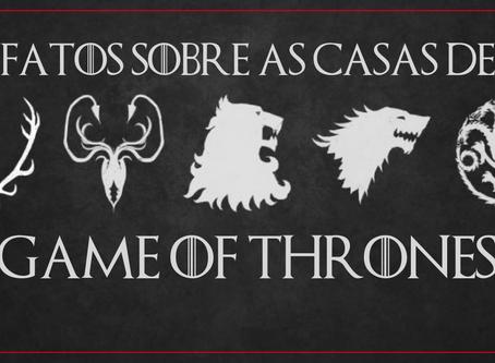 Quiz | Fatos sobre as principais casas de 'Game Of Thrones'.