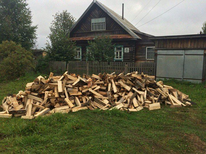 Поздравления про дрова