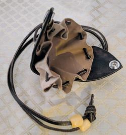 Open Leather purse
