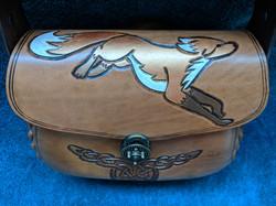 Carved Fox Handbag - Amarlia