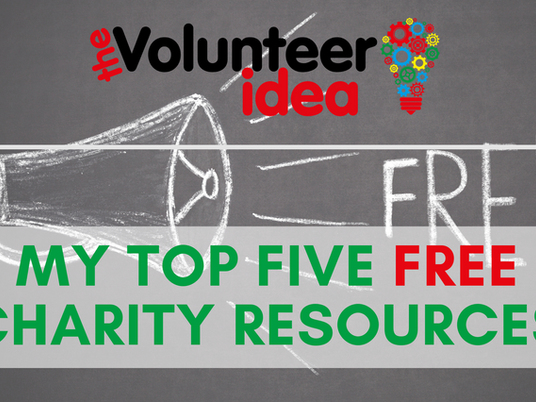 My Top 5 Free Resources for Charities
