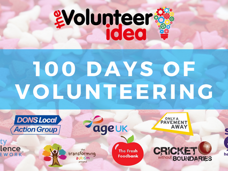 100 Days of Volunteering