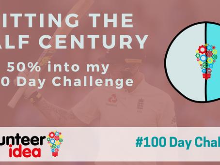 Hitting the Half Century - I'm halfway through my challenge!