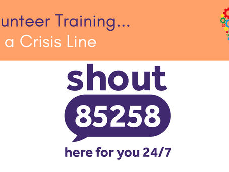 Training as a Volunteer - With SHOUT 85258