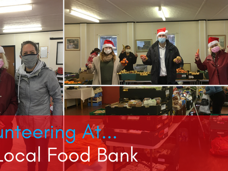 Volunteering At... My Local Food Bank - with my Local MP