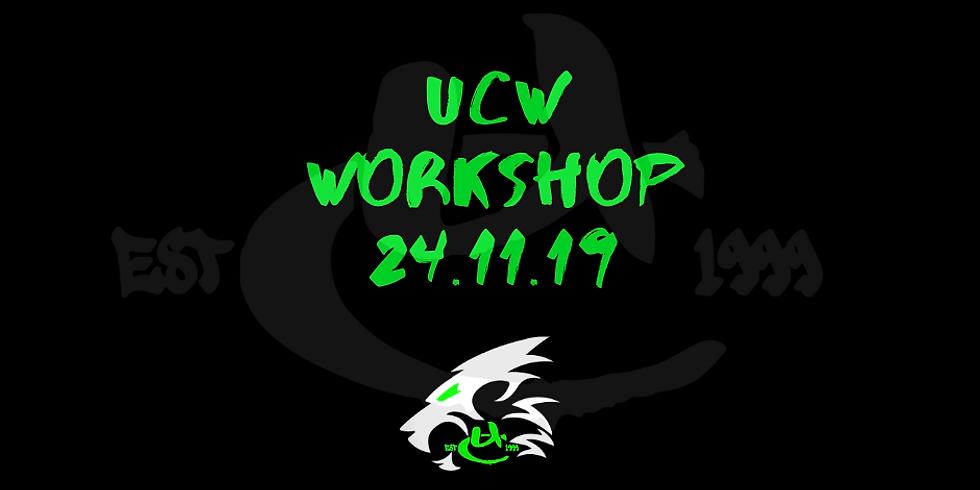 UCW Monthly Workshop NOV