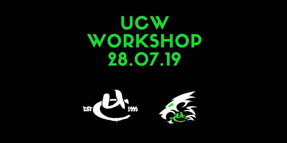 UCW Monthly Workshop July