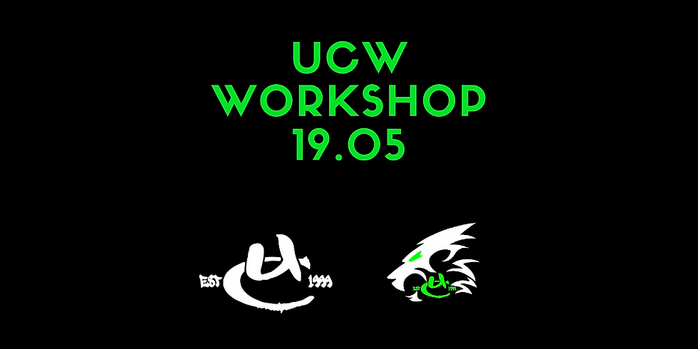 UCW Monthly Workshop May
