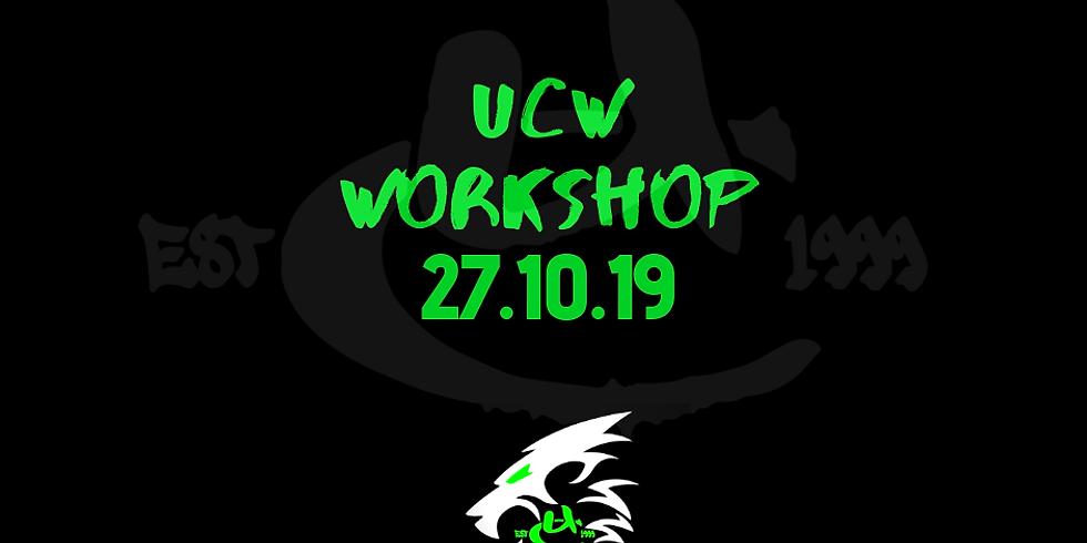 UCW Monthly Workshop Oct