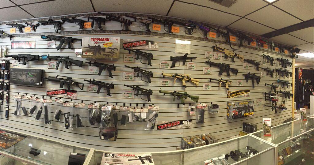 Woodsball Guns
