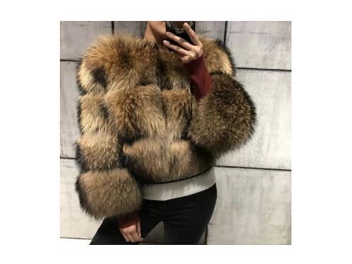 Raccoon Fur Jacket