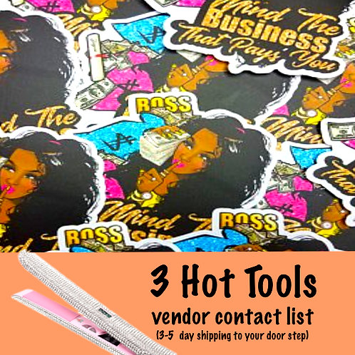 Hair Hot Tools Vendor List