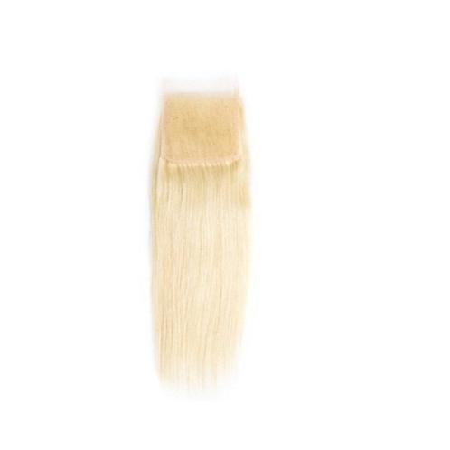 Platinum  Blonde Straight Lace Closure