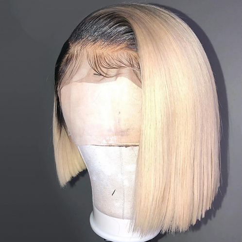 HD Lace Frontal Wig Ombre Root