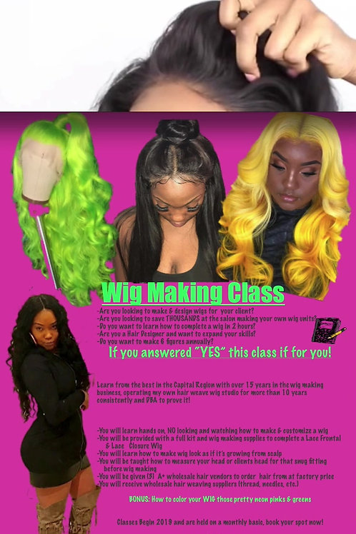 Wig Making Training /Hands On