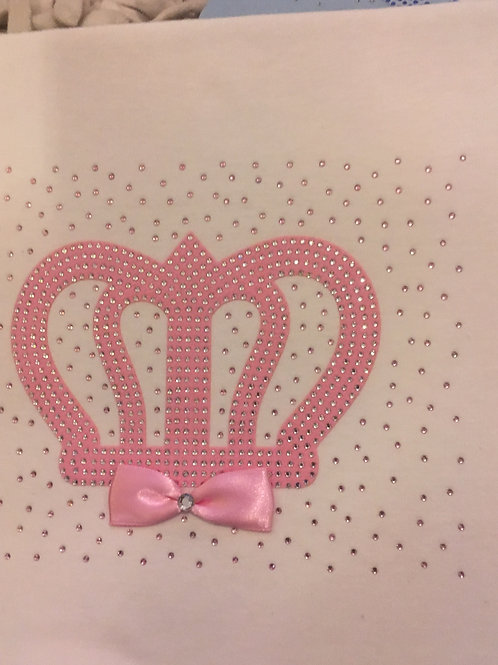 Pink crowned blanket