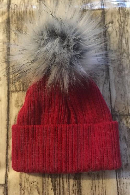 One pom hat