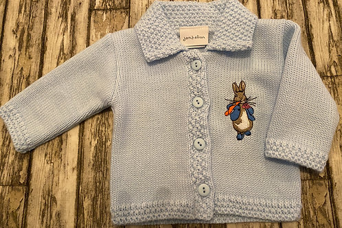 Peter rabbit cardigan