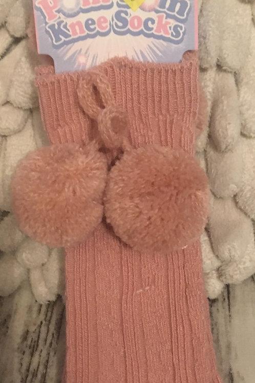 Rose pink socks