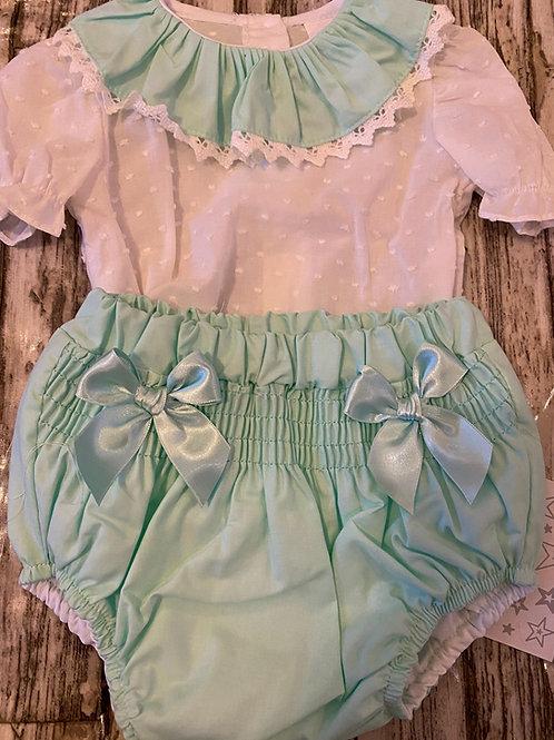 Mint green set