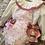 Thumbnail: Floral Dungeree set