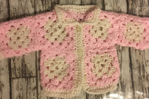 Premature pink cardigan