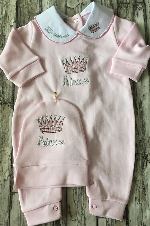 Princess Sleepsuit and Hat