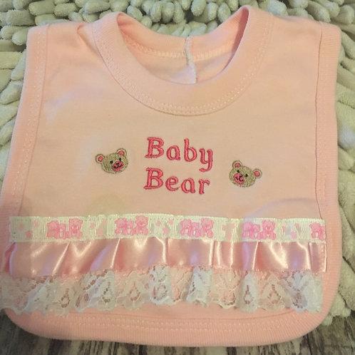 Baby bear bib
