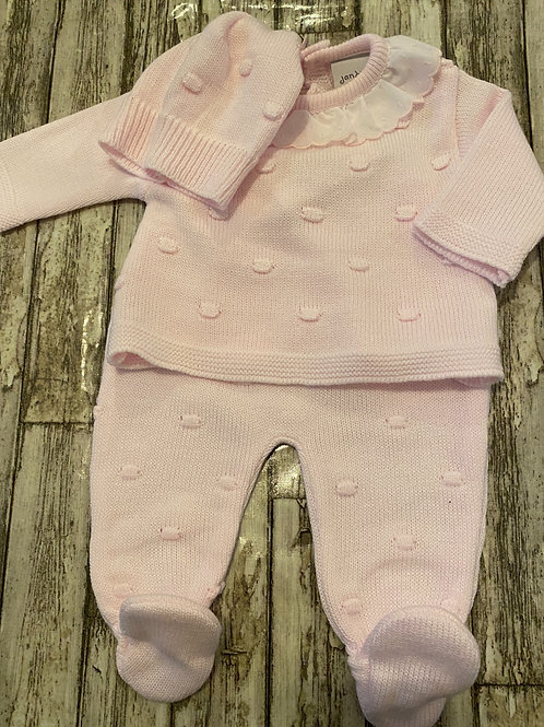Three piece pink set