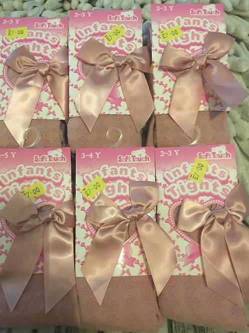 Rose pink tights
