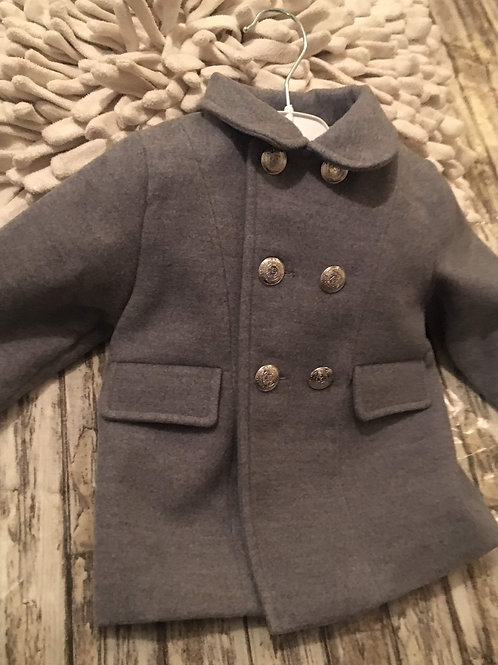 Grey unisex coat