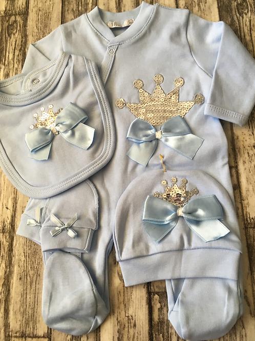 Blue Crown set