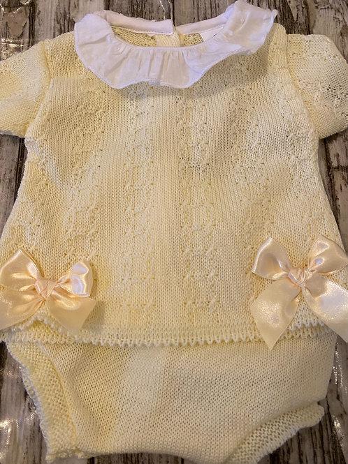 Knitted Lemon set
