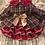 Thumbnail: Marroon tartan dress