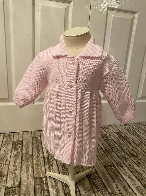 Pearl knitted coat