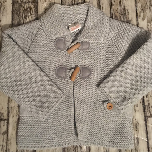 Grey Toggle cardigan