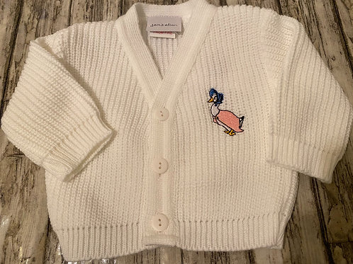 Puddle duck cardigan